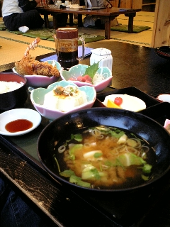 富士五湖方面での夕食と言えば
